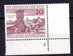 Bund   375 ** Postfrisch  Formnummer - Unused Stamps