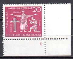 Bund   390 ** Postfrisch  Formnummer - Unused Stamps