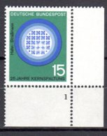 Bund   441 ** Postfrisch  Formnummer - Unused Stamps