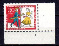Bund   487 ** Postfrisch  Formnummer - Unused Stamps