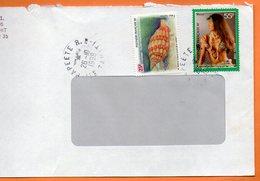 PAPEETE  COLLIERS DE COQUILLAGES 1998 Lettre Entière 110x220 N° OO 113 - Lettres & Documents