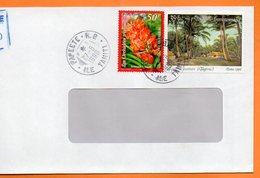 PAPEETE  FORET DE COCOTIERS 1998 Lettre Entière 110x220 N° OO 114 - Lettres & Documents