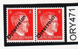 """ORY471 ÖSTERREICH 1945 Michl ANK 662 D PLATTENFEHLER """"n"""" STATT """"h"""" Und ABKLATSCH ** Postfrisch - Abarten & Kuriositäten"""