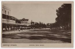 MOCAMBIQUE LOURENÇO MARQUES - Avenida Paiva Manso ( Ed. J. Fernandes Moinhos) - Mozambique