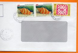FAAA CENTRE  COQUILLAGES 1998 Lettre Entière 110x220 N° OO 116 - Lettres & Documents
