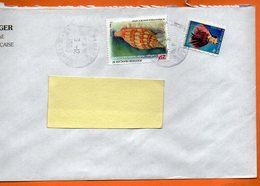REINE POMARE  COQUILLAGES 1998 Lettre Entière 110x220 N° OO 117 - Lettres & Documents