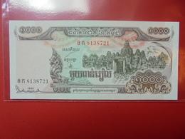 CAMBODGE 1000 RIELS 1992 PEU CIRCULER/NEUF - Cambodia