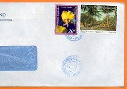 CENTRE TRI AVION  LES ORCHIDEES TROPICALES 1998 Lettre Entière 110x220 N° OO 120 - Lettres & Documents