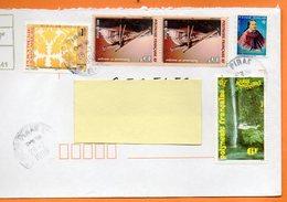 PIRAE   FEDERATION ARTISANALE RIMA ARAVIHI 1999 Lettre Entière 110x220 N° OO 121 - Lettres & Documents