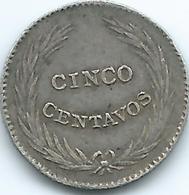 El Salvador - 1911 - 5 Centavos - KM121 - El Salvador