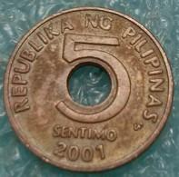 Philippines 5 Sentimos, 2001 -4527 - Philippines