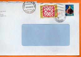 FAAA CENTRE DE TRI  REINE POMARE 1999 Lettre Entière 110x220 N° OO 123 - Lettres & Documents