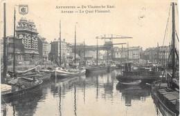 Anvers NA68: Le Quai Flamand 1915 ( Péniches ) - Antwerpen