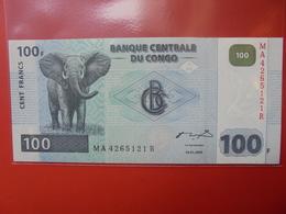 CONGO 100 FRANCS 2000 PEU CIRCULER/NEUF - Congo
