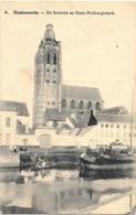 Audenaerde NA20: De Schelde En Sinte-Walburgiskerk 1918 ( Péniche ) - Oudenaarde