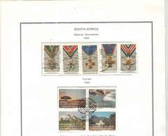Sud Africa  PO 1990 Dwecorazioni Nat.  Scott.797/801 See Scan On Scott.Page; - Sud Africa (1961-...)