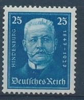 REICH - Mi Nr 405 - Hindenburg - MNH** - Cote 45,00 € - Germany