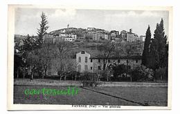 83 FAYENCE - VUE GENERALE - TBE - Fayence