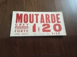 Affichette Grey Poupon - Affiches