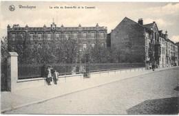 Wenduyne NA50: La Villa Du Grand-Air Et Le Couvent 1913 - Wenduine