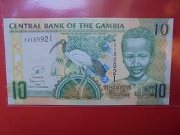 GAMBIE 10 DALASIS 2006  PEU CIRCULER/NEUF - Gambia
