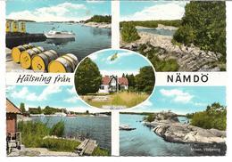 3051x: AK Hälsing Fran Nämdo, Gelaufen 1969 - Schweden