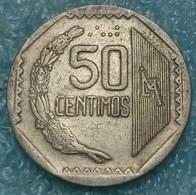 Peru 50 Céntimos, 1992 -4532 - Peru