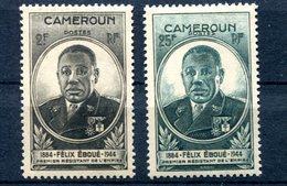 Cameroun - Félix Eboué - Maury 237 & 238 - Neufs XXX - Lot 184 - Neufs