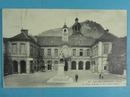 Salins-les-Bains La Place D'Armes Et Fort Saint-André - Frankrijk