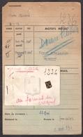 INSIGNE BOUTONNIERE STADE MONTOIS RUGBY 1949 - MONT DE MARSAN - FICHE FABRICANT + INSIGNE SPECIMEN - Rugby