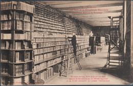 Troyes , Grande Salle De La Biblioteque Nationale , Ancienne Abbaye De Saint Loup , Animée - Troyes