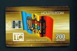 MOLDOVA - Chip Phonecard As Scan (some Wear Marks) - Moldova