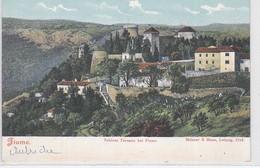 CP - Château : SCHLOSS TERSATTO Près De  FIUME - Croatie