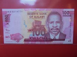 MALAWI 100 KWACHA 2012 PEU CIRCULER/NEUF - Malawi