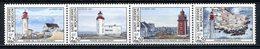 SPM MIQUELON 1992 N° 563/566 ** Bande Horizontale Neufs MNH Superbes C 6 €  Les Phares  Lighthouses Ile Aux Marins - Neufs