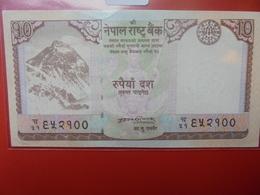 NEPAL 10 RUPEES 2008 PEU CIRCULER/NEUF - Népal
