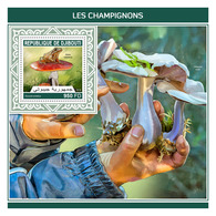 DJIBOUTI 2018 - Mushrooms, Frog - YT BF287; CV=20 € - Frösche