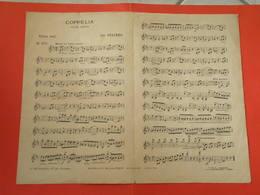 Coppélia - Violon Seul -(Musique Léo Delibes) (Paroles ) (Partition) - Compositeurs De Musique De Film