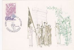 Carte 1er Jour:  Centenaire De L'Ecole Militaire De Saint-Maixent - 1980-1989