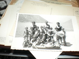 Children, Swimwear, Group Photo, Small Format - Anonymous Persons