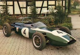 Cooper Formula 2  Racecar Rennwagen  -  1961  -  CPM - Grand Prix / F1