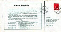 ESSONNE De ST SULPICE DE FAVIERES Dateur B 9 Sur C P De 1971 - Poststempel (Briefe)