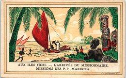 OCEANIE - FIDJI --  L'arrivée Du Missionnaire - Fiji