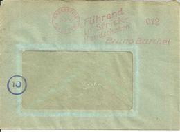 Verm. Aptierter AFS Chemnitz-Rabenstein V. 24.9.45 - Marcofilie - EMA (Print Machine)