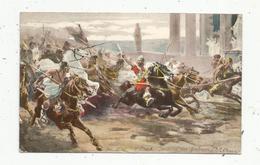 Cp, Arts , Peintures & Tableaux , V. CHECA ,  Invasion Des Barbares , Histoire,  Voyagée 1907,  Ed. K.F. - Pittura & Quadri