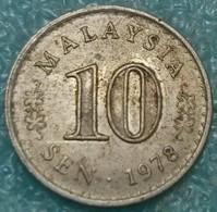 Malaysia 10 Sen, 1978 -4533 - Malaysia