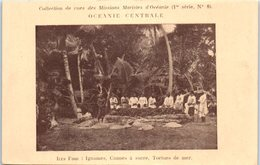 OCEANIE - FIDJI - Ignames , Cannes à Sucre , Tortue De Mer - Fiji