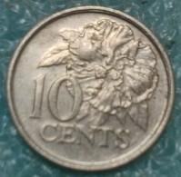 Trinidad And Tobago 10 Cents, 1998 -4534 - Trinidad & Tobago
