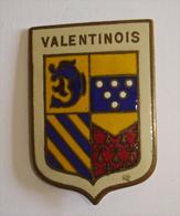 INSIGNE ÉCUSSON VALENTINOIS 192e RALT VALENCE Années 1930-40 Régiment Artillerie - Army