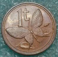 Papua New Guinea 1 Toea, 1984 W/o Mintmark -4535 - Papoea-Nieuw-Guinea